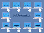 just the emotions.