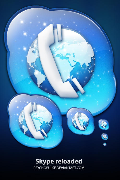 Skype icon by Psychopulse