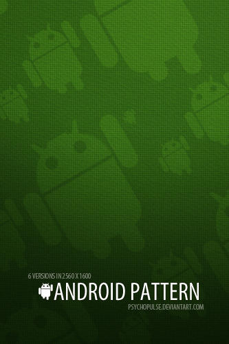 ANDROID PATTERN by Psychopulse