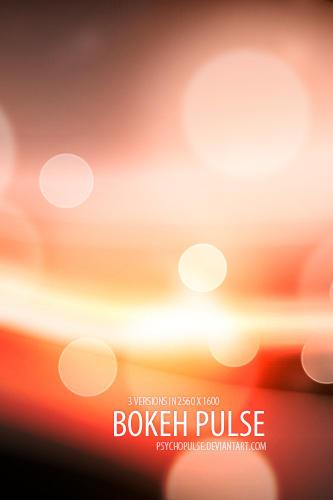 bokeh pulse by Psychopulse
