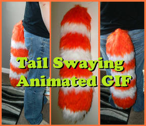 Large Yarn Tail Sway Action by WolfieWear