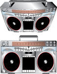 VECTOR BOOMBOX by sclanton58