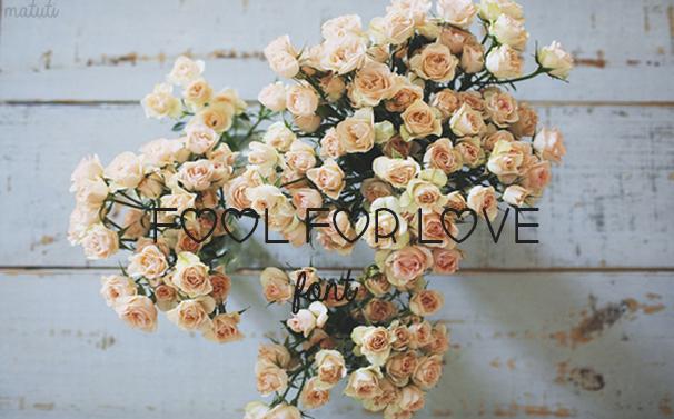Font Fool For Love -Matuti by Matuti