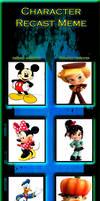 My Mickey Mouse recast meme