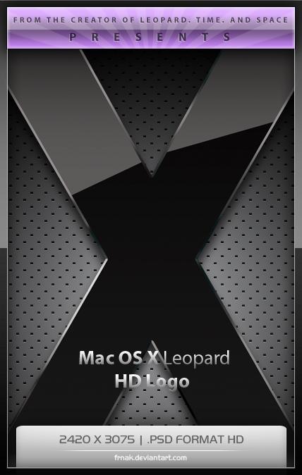 Mac OS X Leopard Logo HD