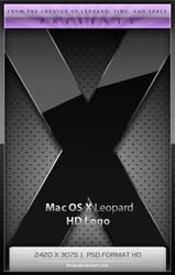 Mac OS X Leopard Logo HD by Frnak