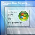 Premium Glass PSD