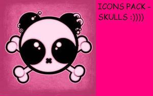 Skull icon pack by garbaniele