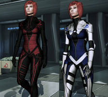 ME3 Hoodless Kasumi Outfit