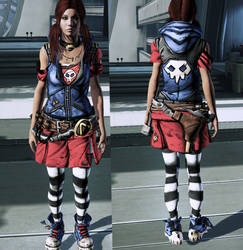 ME3 Gaige Outfit