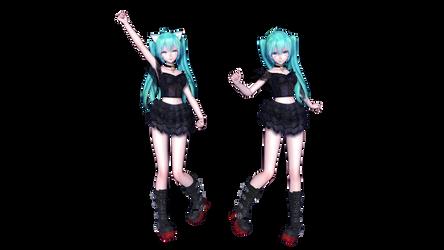 MMD - TDA Kitty Miku DL