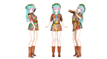 MMD Tda Miku More And More Twice Model DL