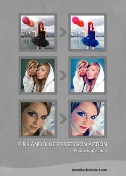 pink and blue possession