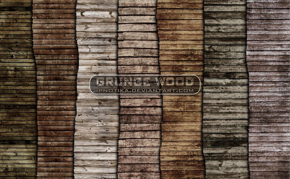 grunge wood by ipnotika