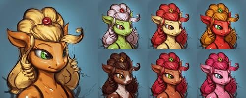 Pony Colouring + PSD