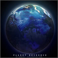 Co-Existence Planet By Hameed by scifisrc
