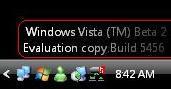 Vista Beta 2 5456.5 Build info