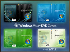 Windows Vista DVD Covers by sahtel08