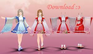 Schoolgirl Strikers Dress+model_DL