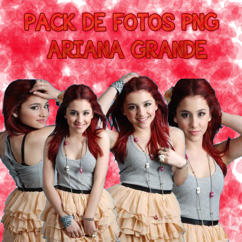 Download Ariana Grande Thank You: Pack PNG Ariana Grande By OneLonesslyGirl On DeviantArt