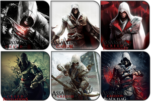 Assassin's Creed Pack by griddark