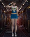 Rebecca Cheerleader, RE0 Remaster *XPS*