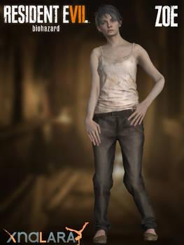Resident Evil 7 : Biohazard - XPS - Zoe Baker