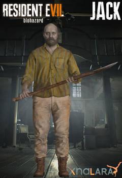 Resident Evil 7 : Biohazard - XPS - Jack  UPDATED