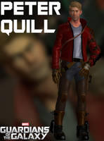 Peter Quill - GOTG - XPS by xZombieAlix