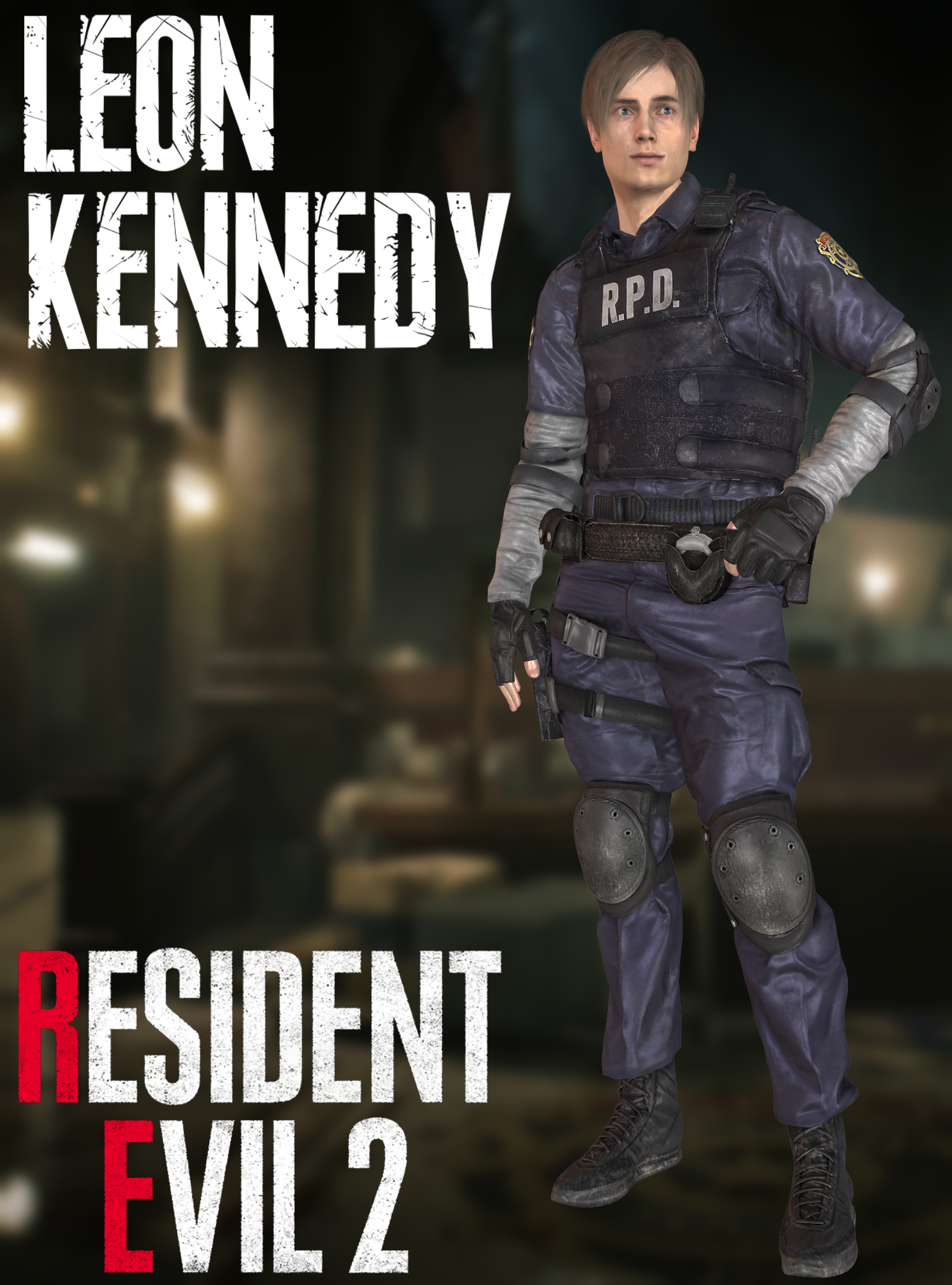 Leon Kennedy Re2 Remake Xps By Xzombiealix On Deviantart