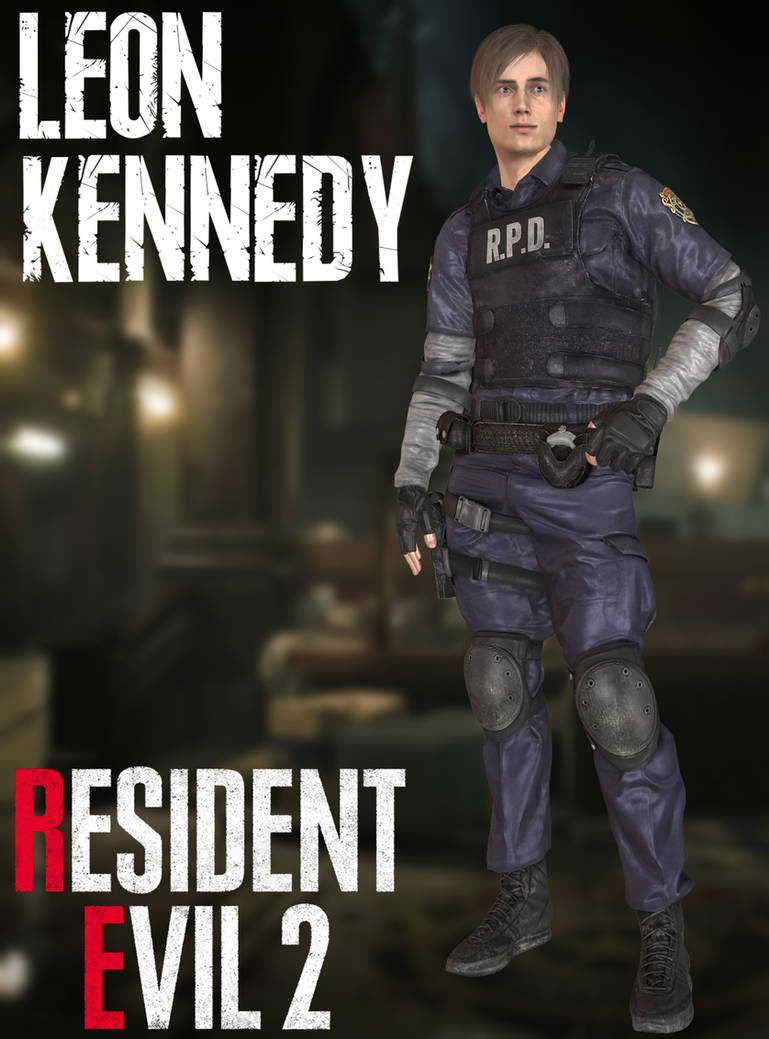 Leon Kennedy - RE2:Remake - XPS by xZombieAlix on DeviantArt