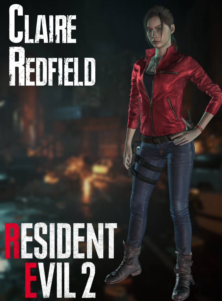 Claire Redfield - RE2:Remake - XPS by xZombieAlix on DeviantArt