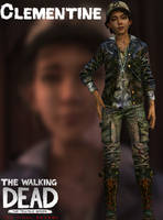 Clementine - TWD: TFS - XPS