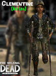 Clementine - Missing Leg - TWD: TFS - XPS