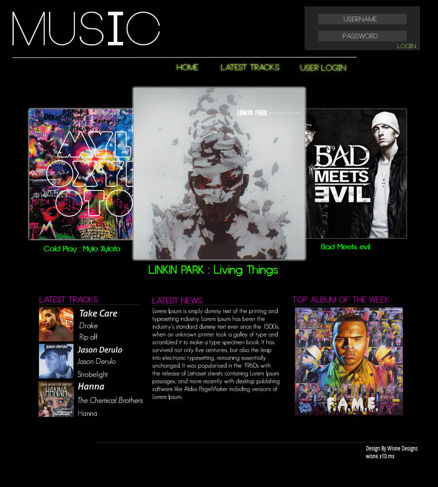 Music Site Templates 42 Music Website Themes Templates Free Premium