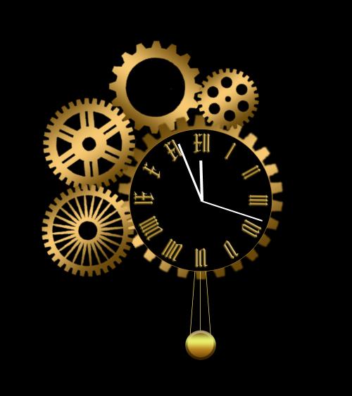 Old Clock Gears : Gears old clock by xordes on deviantart
