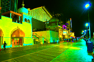 Atlantic City Boardwalk Nights by greekceo79