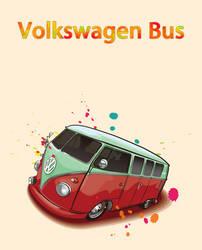 Volkswagen Bus by jjfwh