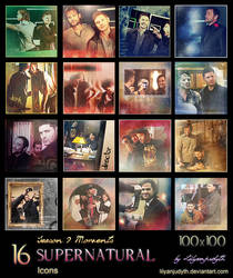 SPN - Season 9 Moments (Icons)