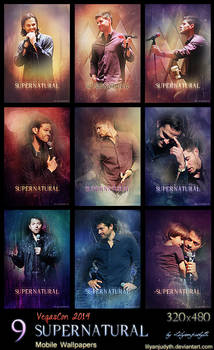 SPN - VegasCon 2014 (Mobile Wallpapers)