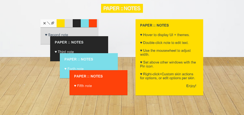 Paper::Notes