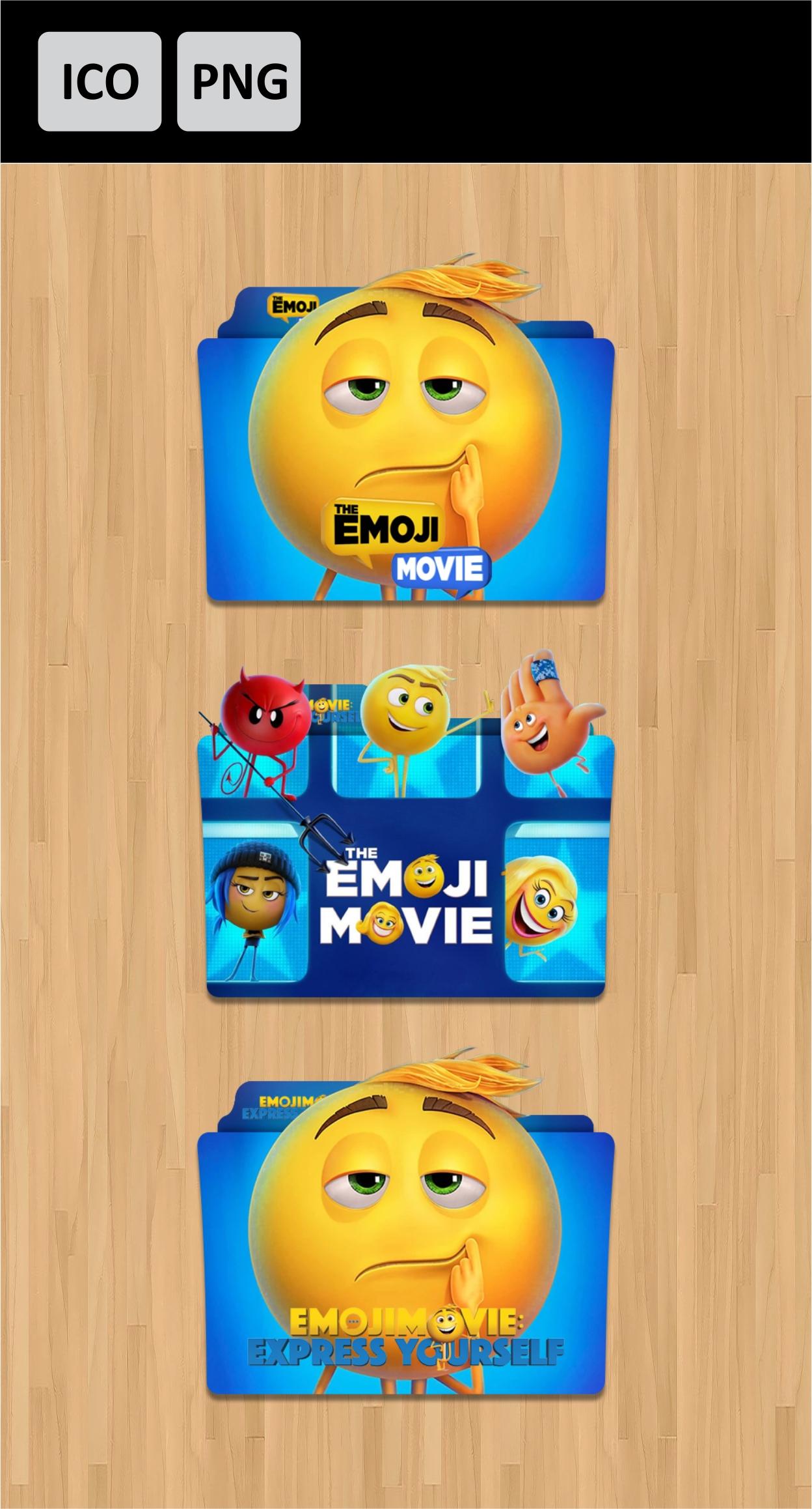 The Emoji Movie 2017 Folder Icon Pack By Dianzpurba On Deviantart