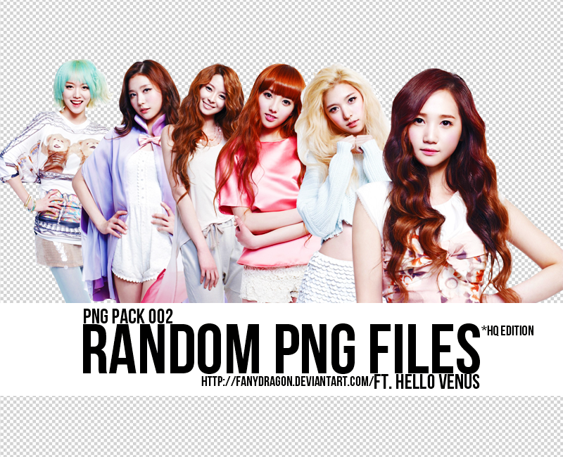 PNG Pack 002 - Hello Venus by fanydragon