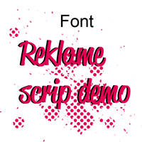 font_reklame by cyruscrazystyle