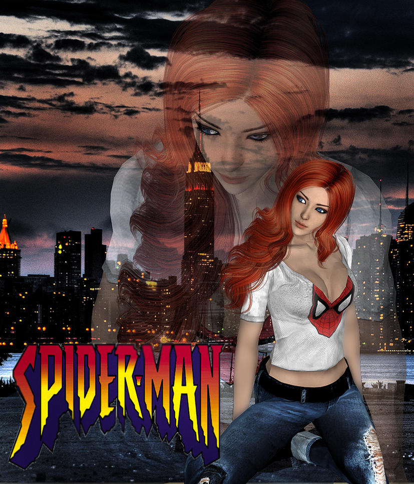 XPS - Spiderman - Mary Jane Download by DeathsFugitive