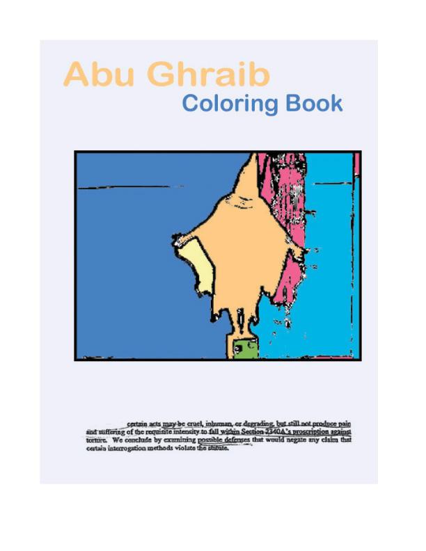 Abu Ghraib Coloring Book by James00x