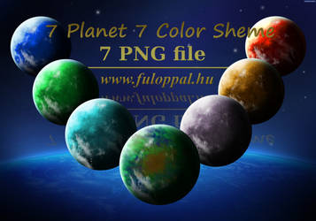 Planets by fuloppal
