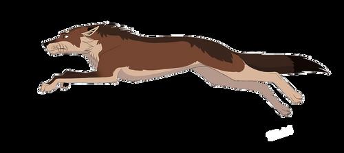 Malik - Wolf Run Animation Template