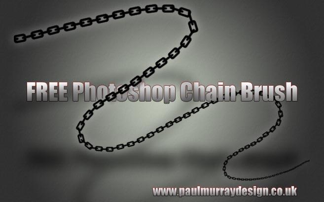 Free Photoshop Chain Brush