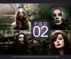 PSD COLORING 02 | Viridian Glass by herrondale